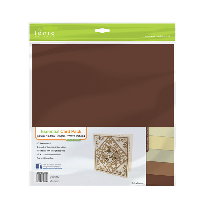 Essential Card Pack - Natural Neutrals 216GSM - 789E