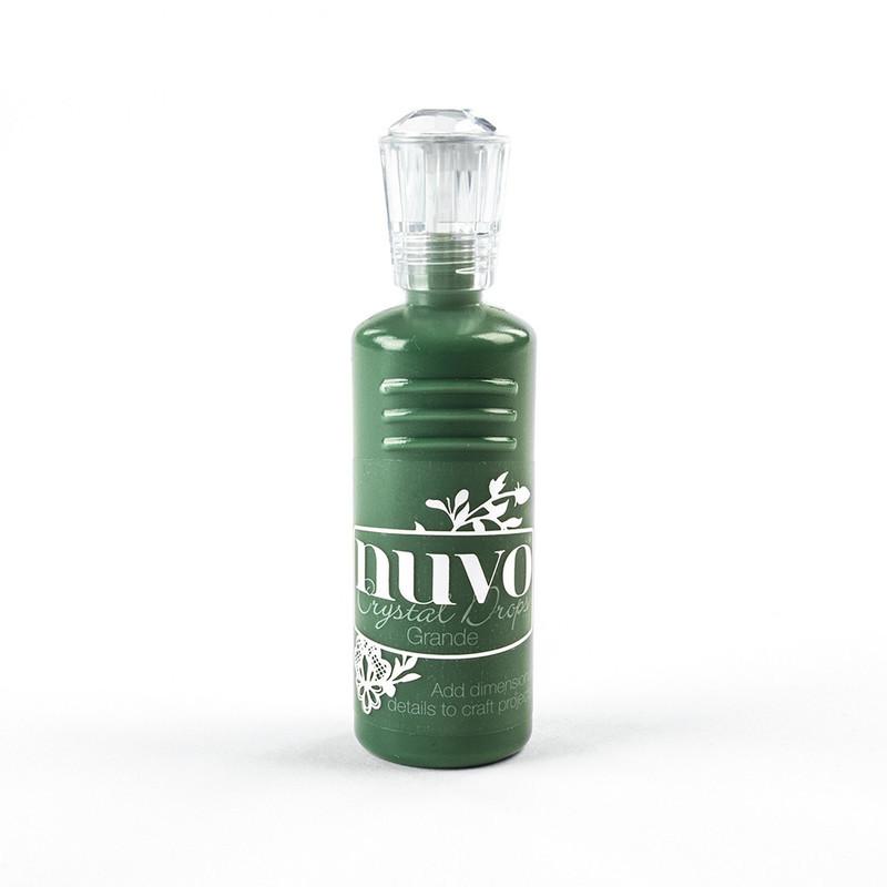 Nuvo - Crystal Drops Grande - Woodland Green - 792N
