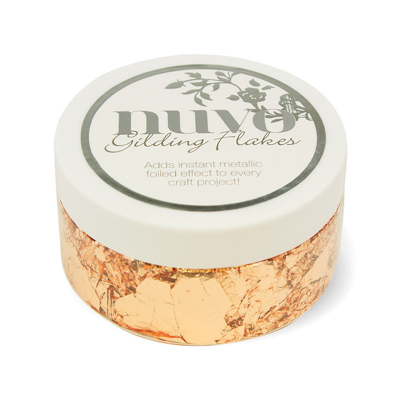 Nuvo Gilding Flakes - Sunkissed Copper (200ml) - 852N