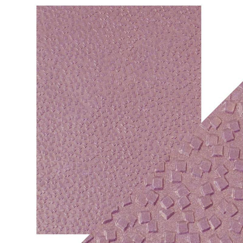 Falling Glitter - Hand Crafted Embossed Cotton Paper- A4 - 150 gms/55 lbs - 9810e