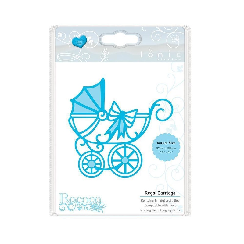 Tonic Studios - Rococo - Regal Carriage Die Set - 1274e