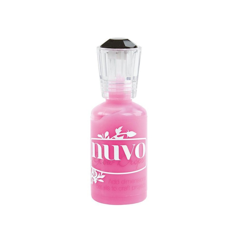 Nuvo - Glow Drops – Shocking Pink - 746n
