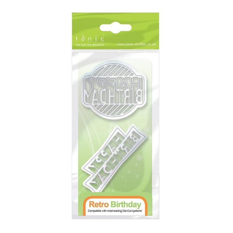 Tonic Studios Tonic Studios Sentiments - Retro Birthday - 1059E