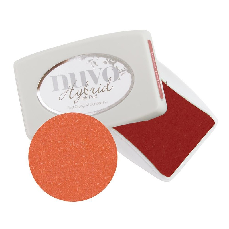 Nuvo - Ink Pad - Poppy Red - 214n
