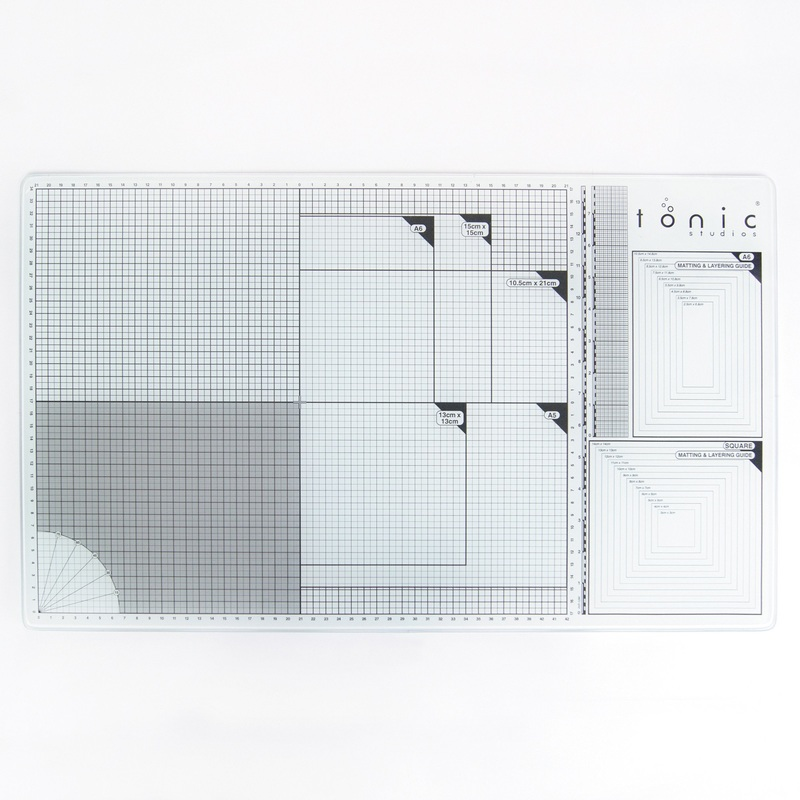 Tonic Studios - Surfaces - A3 Glass Cutting Mat - 352e