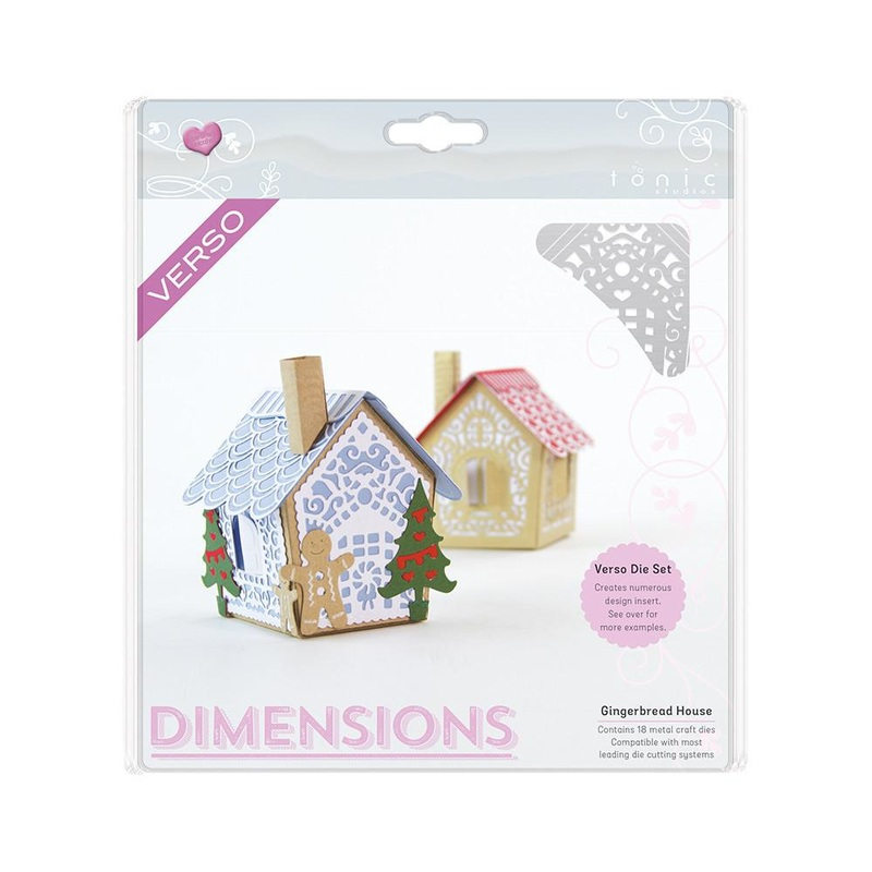 Tonic Studios - Dimensions - Gingerbread House Die Set - 747e