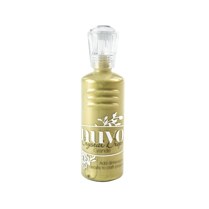 Nuvo - Crystal Drops Grande - Bright Gold - 794n