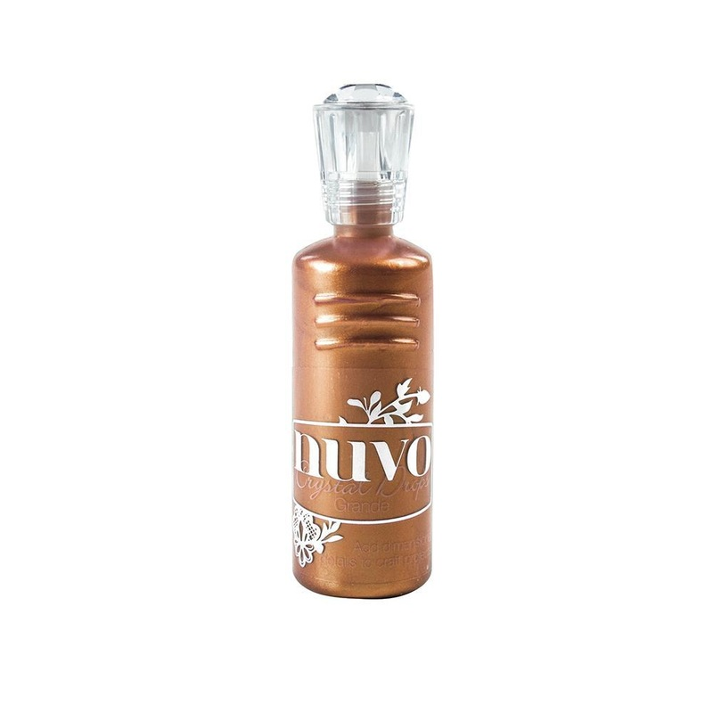 Nuvo - Crystal Drops Grande - Copper Penny - 795n