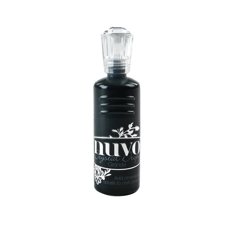 Nuvo - Crystal Drops Grande - Ebony Black - 799n