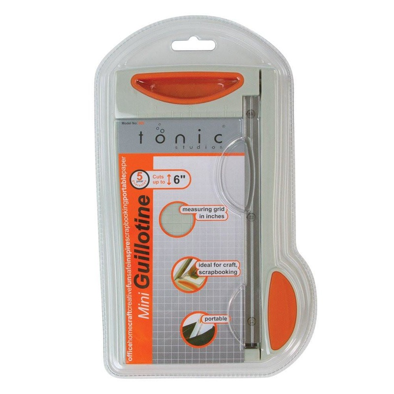 "Tonic Studios - Trimmers - 6"" Mini Guillotine - 809 / 150e"