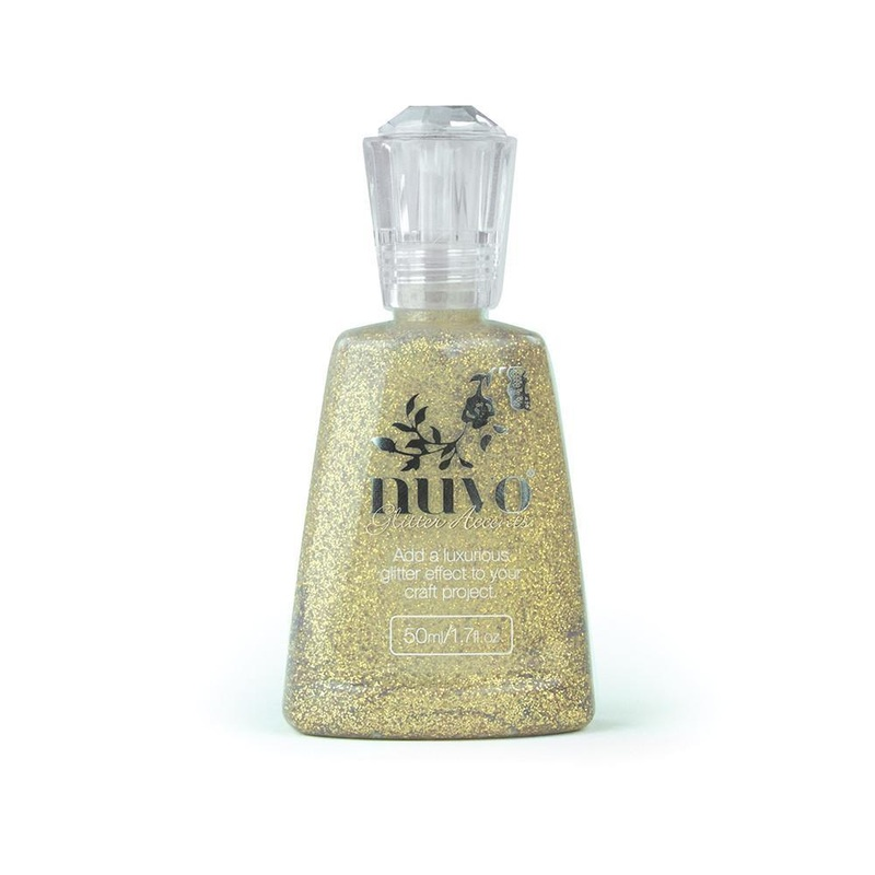Nuvo - Glitter Accents - Aztec Gold - 946n