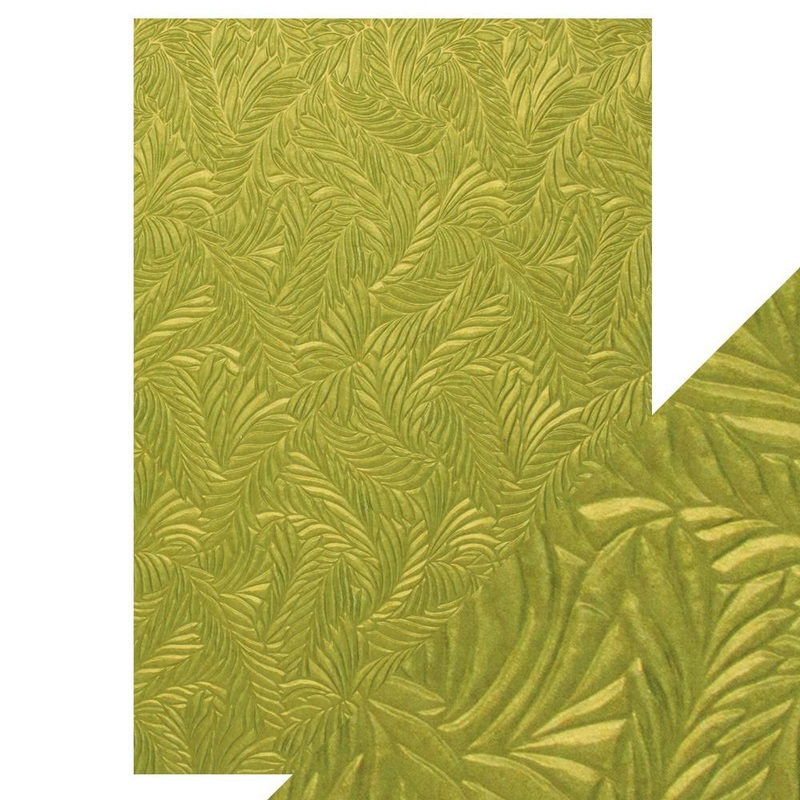 Craft Perfect - Hand Crafted Cotton Paper - Evergreen Fir - A4 (5/pk) - 9878e