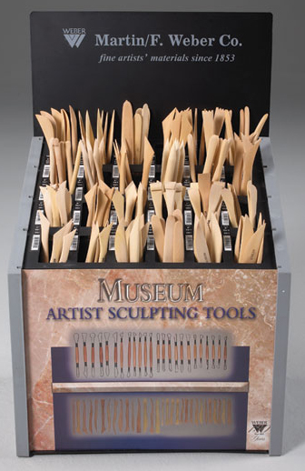 Museum Boxwood Tool Display: Assortment