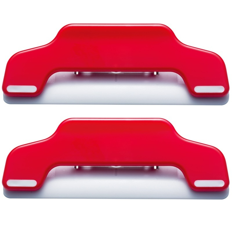 Wide Extra Strong Magnet 2-pack Extra Strong Magnet 2 Pack - WIDE Red