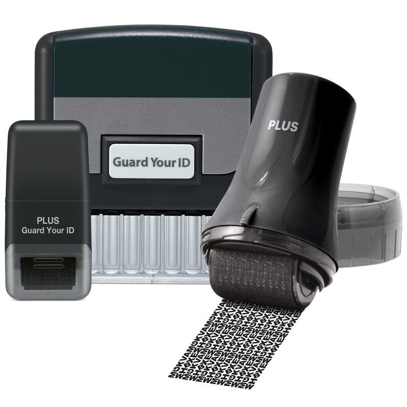 Guard Your Id Security Kit Guard Your ID Stamp & Roller 3-Pack