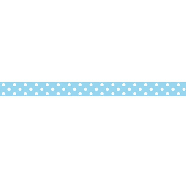 Decoration Tape - Blue/White Dots