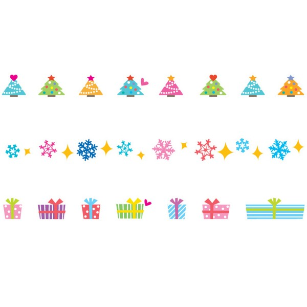 Decoration Tape Story Pack - Holiday