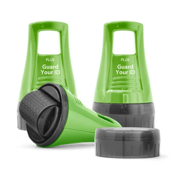WIDE Guard Your ID Advanced X Roller 3 Pack - Green (59029)