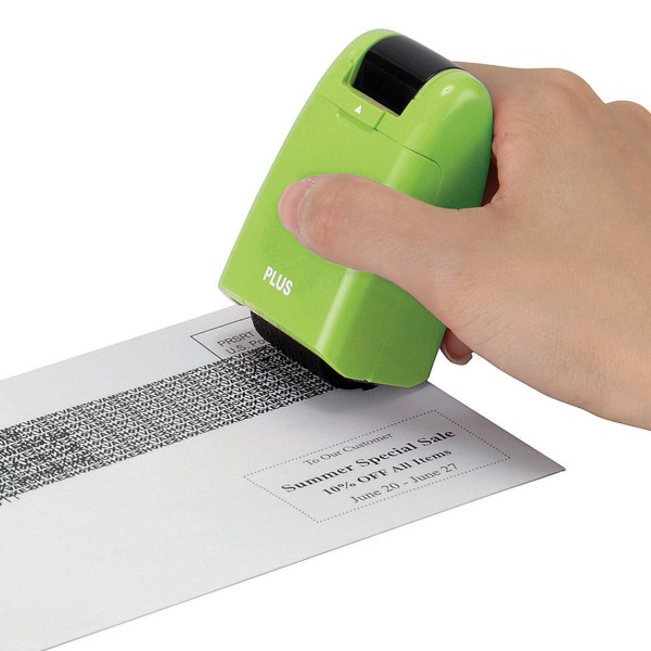 Guard Your ID Stamp & Roller - Green