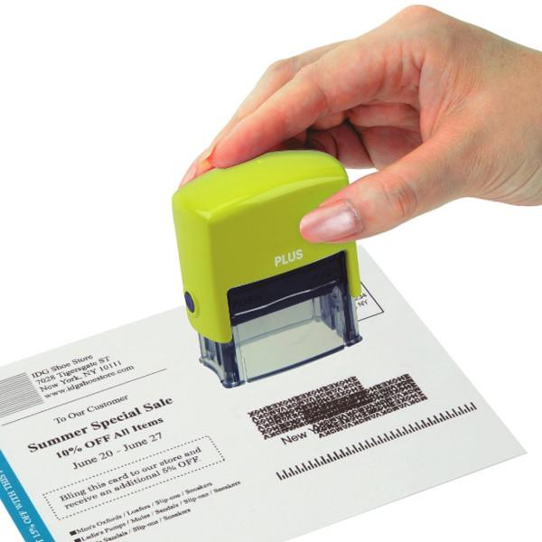 Guard Your ID Small Stamp - Green