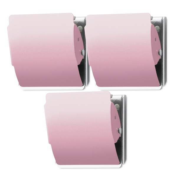 Extra Strong Magnet 3 Pack - Light Pink