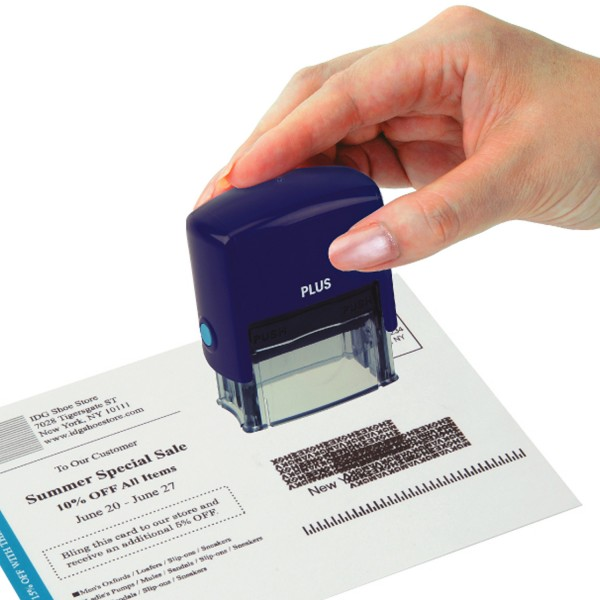 Guard Your ID Small Stamp - Navy