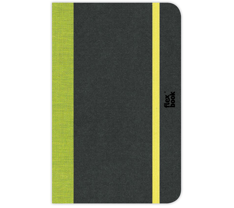 "Flexbook Notebooks Size: 6¾"" x 9½"" - Lime Green - Ruled"