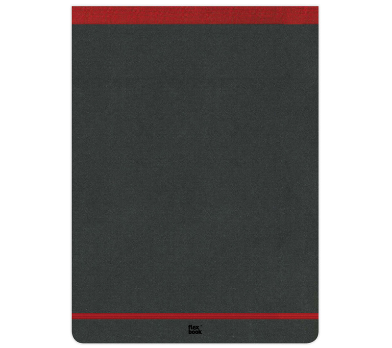 "Flexbook Notepads Size: 8¼"" x 11"" - Red"