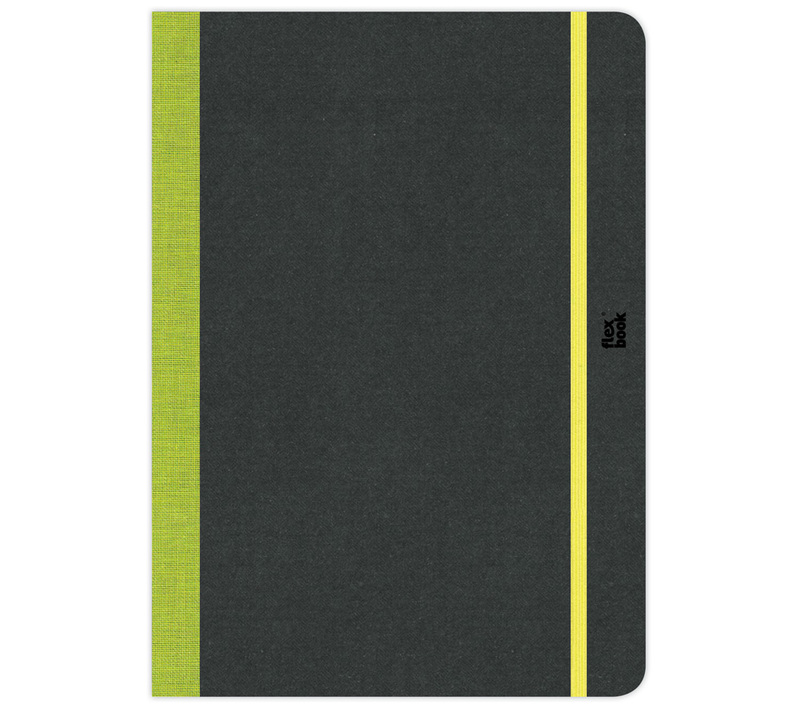 "Flexbook Sketchbooks Size: 6"" x 8½"" - Lime Green"