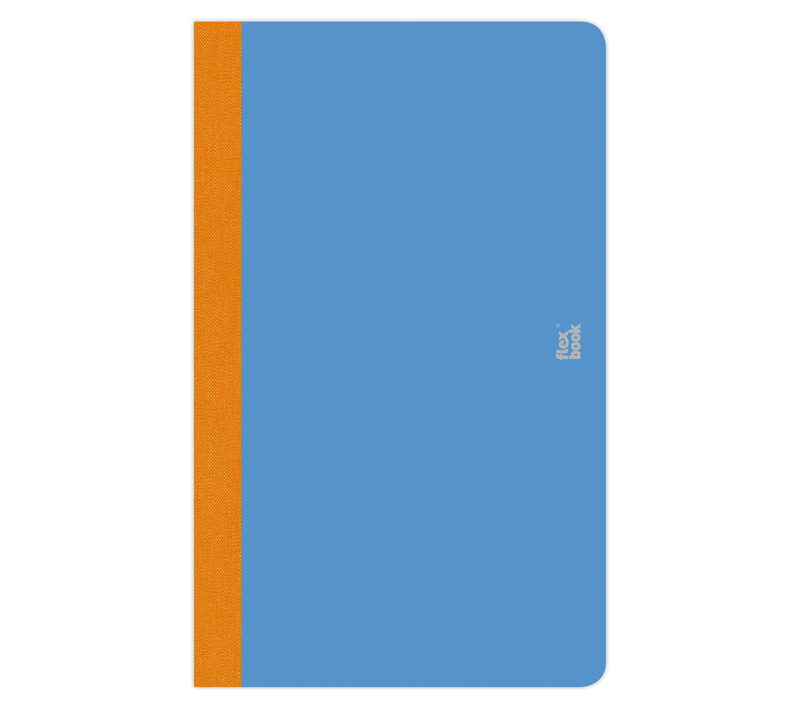 "Flexbook Smartbooks - Royal Blue Size: 6 3/4"" x 9 1/2"" - Royal Blue, Ruled"
