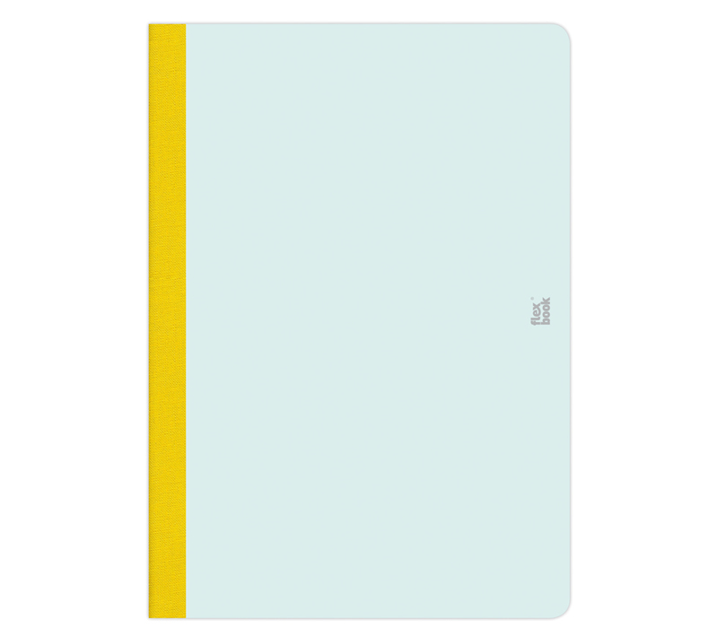 "Flexbook Smartbooks - Mint Green Size: 6 3/4"" x 9 1/2"" - Mint Green, Ruled"