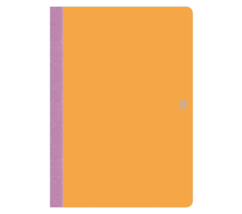 "Flexbook Smartbooks - Orange Size: 5"" x 8 1/4"" - Orange, Blank"