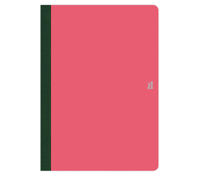"Flexbook Smartbooks - Pink Size: 6 3/4"" x 9 1/2"" - Pink, Ruled"