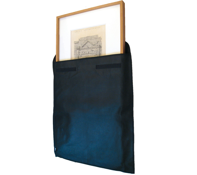 "Start Canvas & Frame Envelope Size: 20"" x 24"" x 1.5"" (Canvas Size) - Black"