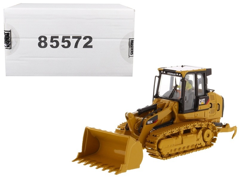 CAT Caterpillar 963K Track Loader with Operator High Line Series 1/50 Diecast Model by Diecast Masters