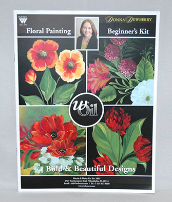 Donna Dewberry Booklet-Floral Beginner
