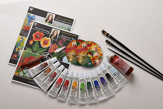 Donna Dewberry Deluxe Painting Set With Woil