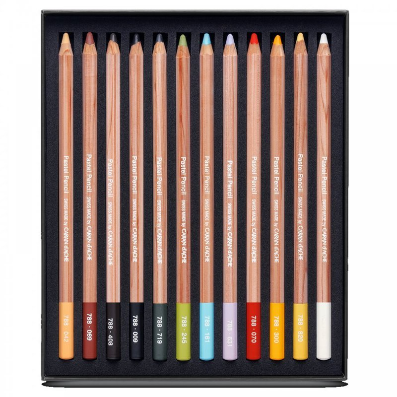 Caran D'Ache Pencil assortment 12 pcs