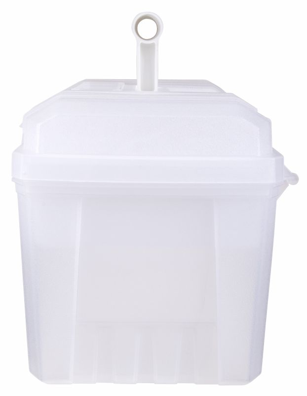 "Artbin 17"" Twin Top Supply Box Trans/white"