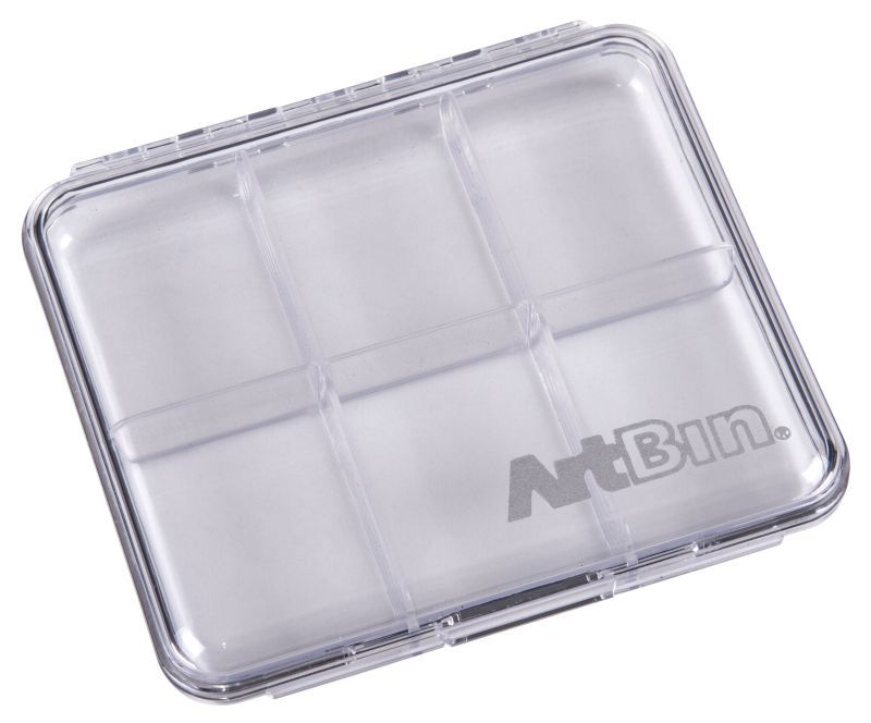 Artbin 4 X 4 Slim Line - 6 Compartments (sold 2 Per Pack)