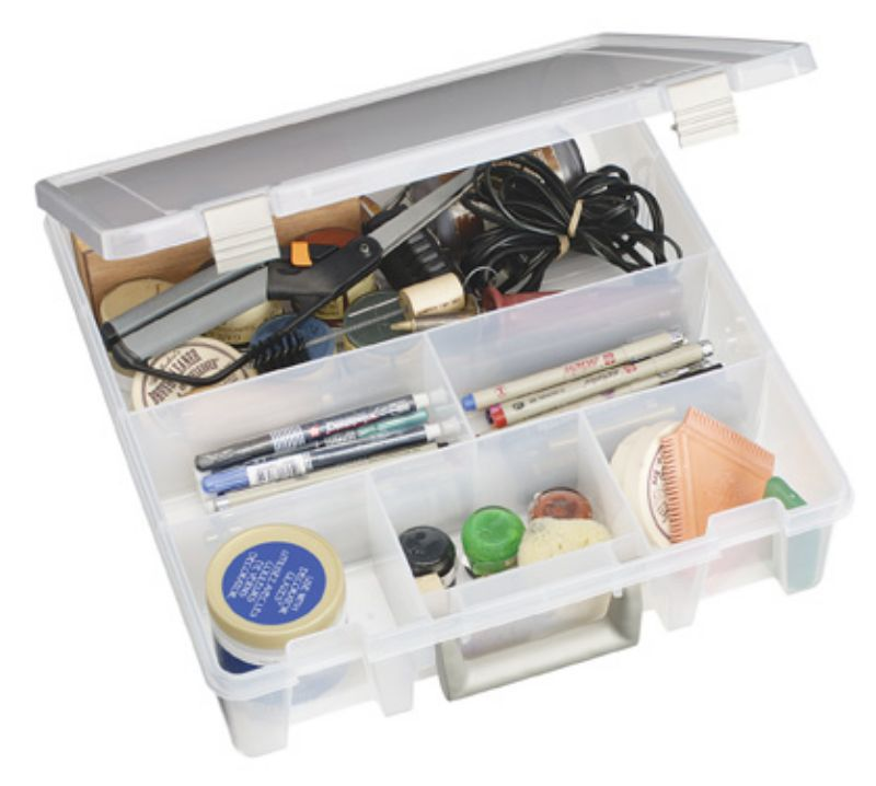 Artbin Super Satchel 6 Fixed Divided Compartments