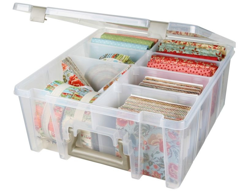 Artbin Super Satchel Double Deep With Removable Dividers