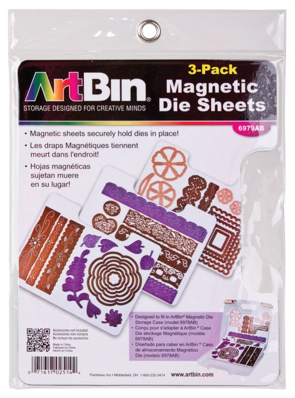 Artbin Magnetic Die Sheet Set