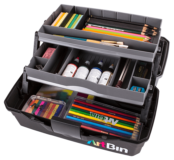 Artbin Two Tray Art Supply Box