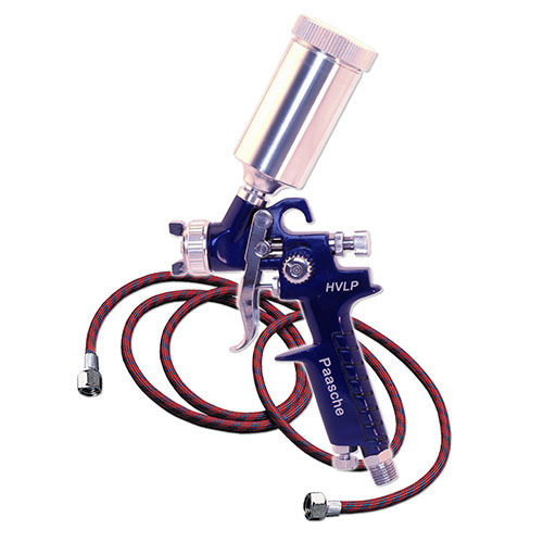 Paasche HVLP Fast Application Tanning Gun - Gravity Feed - 500T