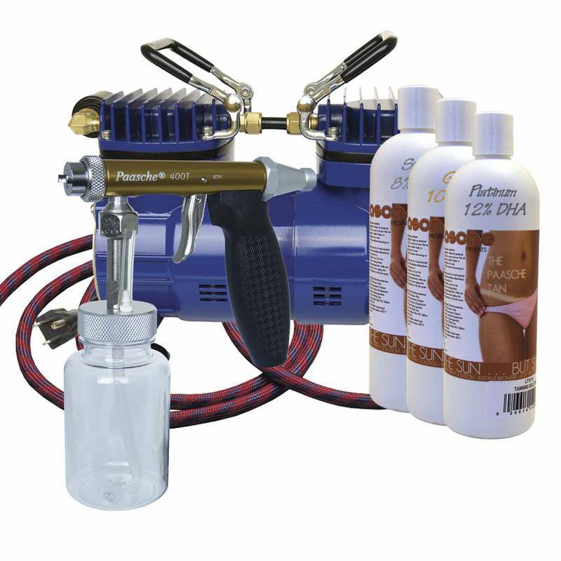Paasche Airbrush Paasche Fast Appication Kit - No Cloging - Simple Operation - DT-600F