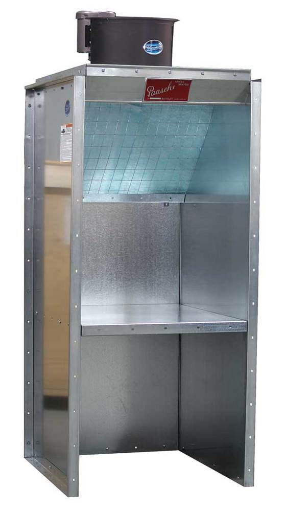 Paasche Bench Style Filter Booth - FBSL-2-6-T1