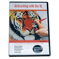 Paasche Double Action Airbrush Instructional DVD - DVD-VL