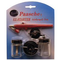 Paasche Airbrush Paasche EZ-Starter Single Action Airbrush Kit
