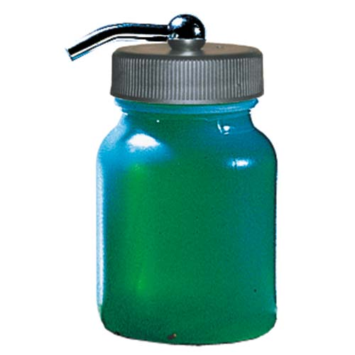 Paasche 3oz Bottle Assembly for Painting Straight Down - HDP-3-OZ